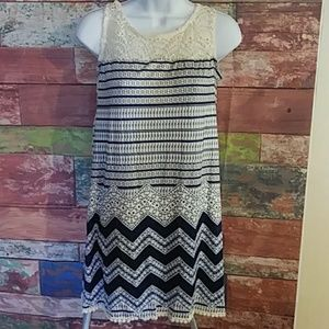 Leo Rosi Sleeveless Dress Small